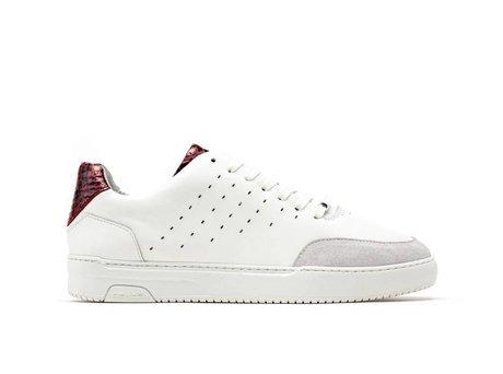 Rehab Red White Sneakers Tygo Lthr Snake