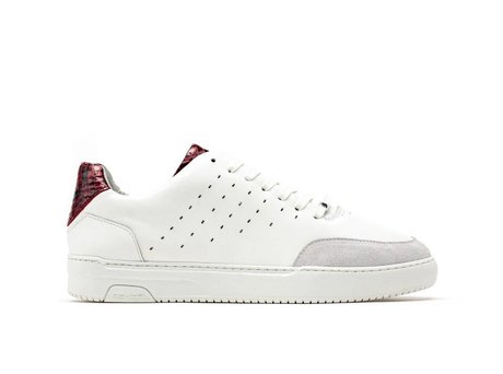 Rehab Rote Weiße Sneakers  Tygo Lthr Snake