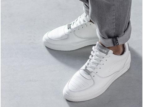 Rehab Grey White Sneakers Thabo Calf