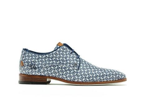Greg Boomerang | Blauwe nette schoenen