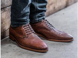 Bruine nette schoenen Brad Weave