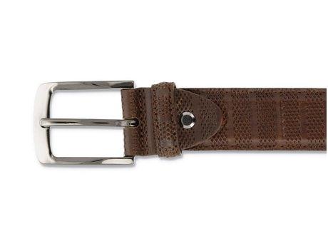 Belt Stripes 120 Cognac