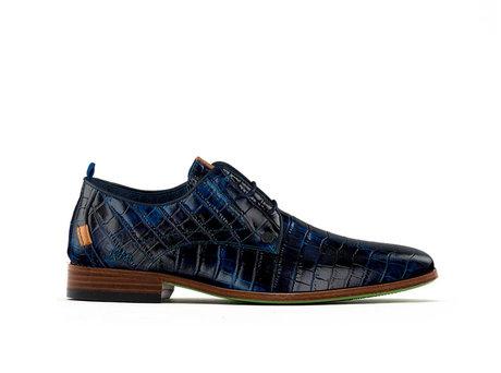 Greg Crc | Donkerblauwe nette schoenen