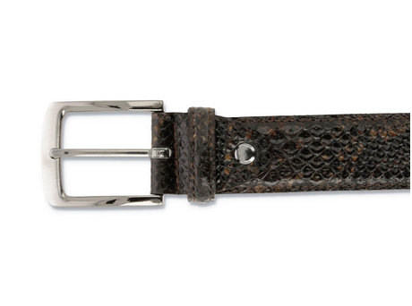 REHAB BELT SNAKE 120 BROWN
