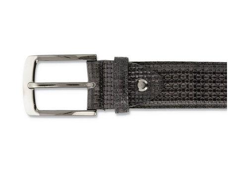 Belt Weave Verniz Dark Grey
