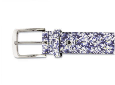 REHAB RIEM FRED FLOWER BLUE