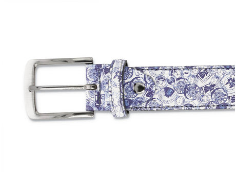 REHAB BELT FRED STAMPS MEX BLUE
