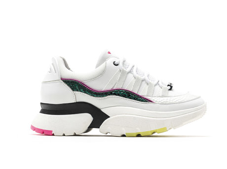 Sylvia Funky | Witte chunky sneakers