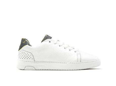 Teagan Army | Groene-witte sneakers