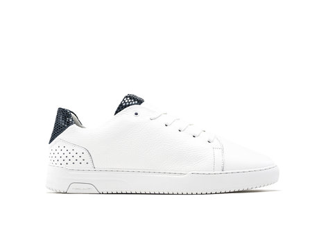 Teagan Liz | Blauwe-witte sneakers
