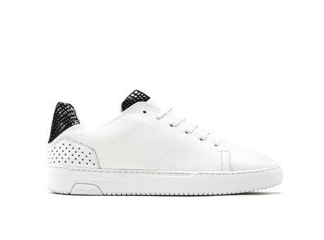 Black White Sneakers Teagan Bas Smit Snake