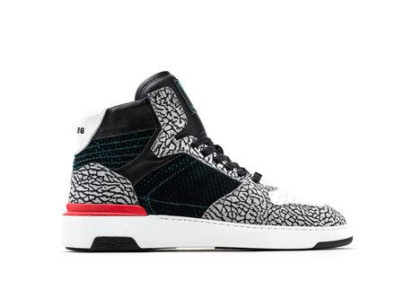 Razer Cement | Zwart-witte sneaker