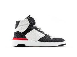 REHAB Razer Snk   Zwart-witte sneaker