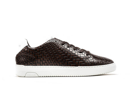 Rehab Dunkel Braune Sneakers Teagan Brick