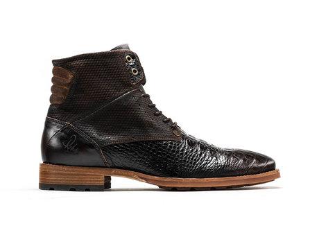 Alesandro Crc Vnz   Hoge bruine boots