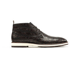 Rehab Dark Brown Business Shoes Potsavivo Weave