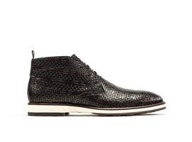 Rehab Dunkel Braune Business Schuhe Potsavivo Weave