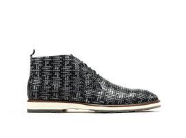 Rehab Dunkel Graue Business Schuhe Potsavivo Weave