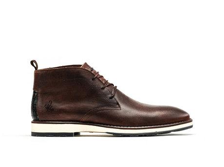 Rehab Braune Business Schuhe Potsavivo Lthr