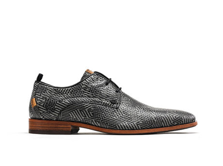 Rehab Grey Black Business Shoes Greg Labyrinth