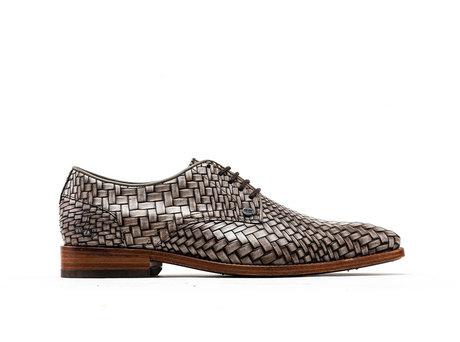 Rehab Grey Business Shoes Brad Brick