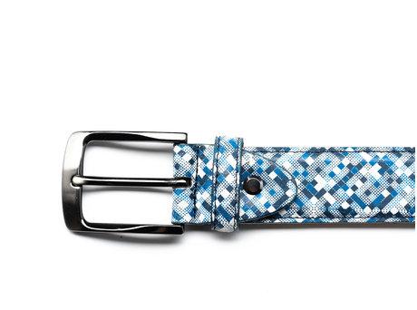 Guertel Pixelmania Blue-White