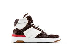 REHAB Razer Tmb Crc | Wit-bruine sneaker