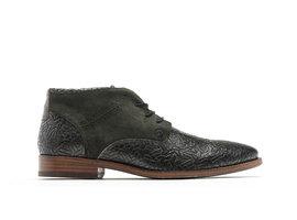 Salvador Weave   High dark green business shoes