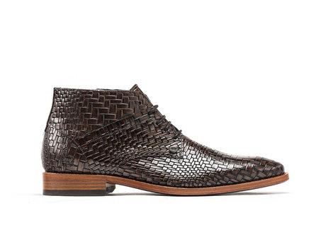 Rehab Braune Business Schuhe Barry Brick