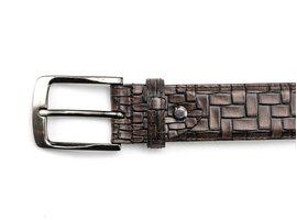 REHAB Belt Brick Brown