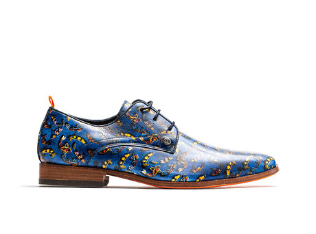 REHAB FRED FISH ART MULTI INDIGO
