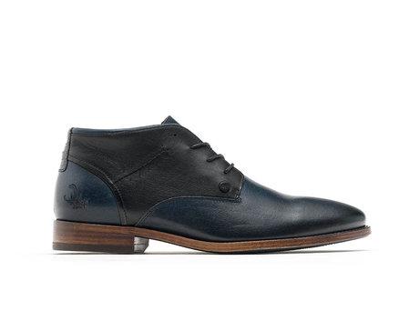 Salvador Classic   Hoge donkerblauwe nette schoenen