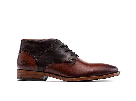 Salvador Classic | Hoge bruine nette schoenen