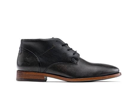 Salvador Classic | Hoge donkergrijze nette schoenen