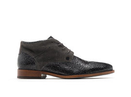 Salvador Weave | Höhen dunkelgraue business shoes