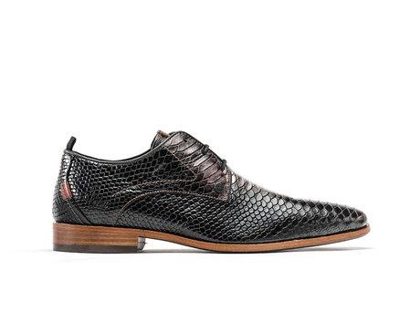 Rehab Brown Black Business Shoes Greg Snake Met