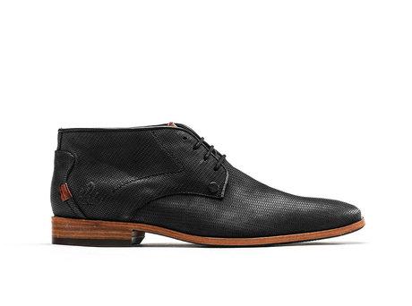Gregory Rhombo | Hoge zwarte nette schoenen