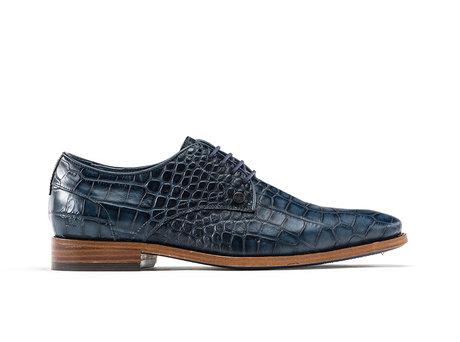 Dark Blue Business Shoes Brad Crc 420