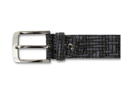 Belt Weave Pts 420 Dark Blue