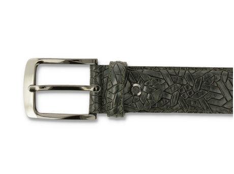 Belt Weave 420 Dark Green