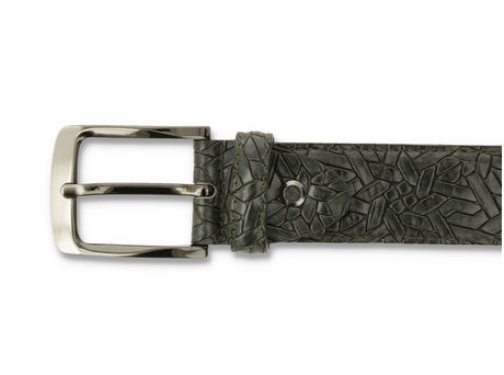 REHAB BELT WEAVE 420 DARK GREEN