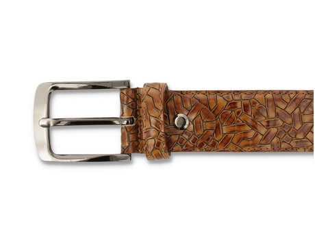 REHAB BELT WEAVE 420 BROWN