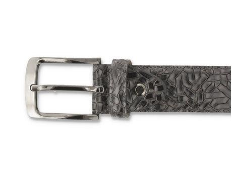 Guertel Weave 420 Dark Grey