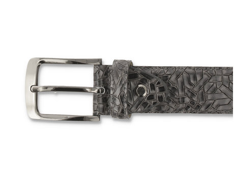 REHAB BELT WEAVE 420 DARK GREY
