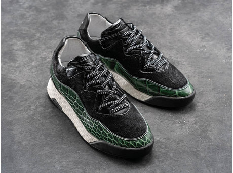REHAB ALEXA CROCO DARK GREEN