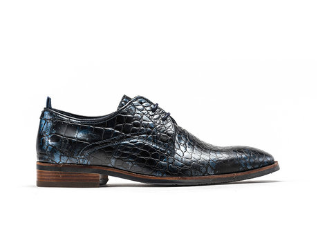Rehab Dark Blue Business Shoes Falco Crc Met