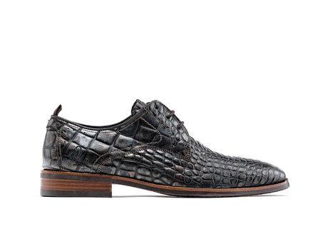 Braune Business Schuhe Falco Crc Met