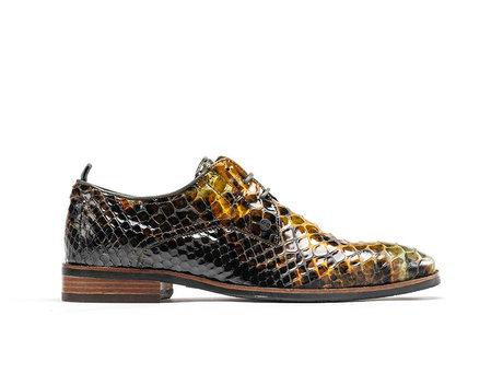 Falco Snk Vnz | Groene nette schoenen