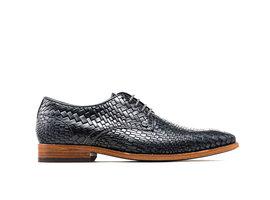 Brad Brick   Dunkelgraue Business Schuhe