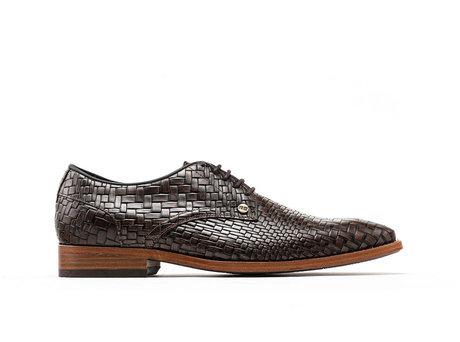 Braune Business Schuhe Brad Brick